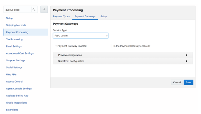 How to Configure Payment Systems in Oracle Commerce Cloud