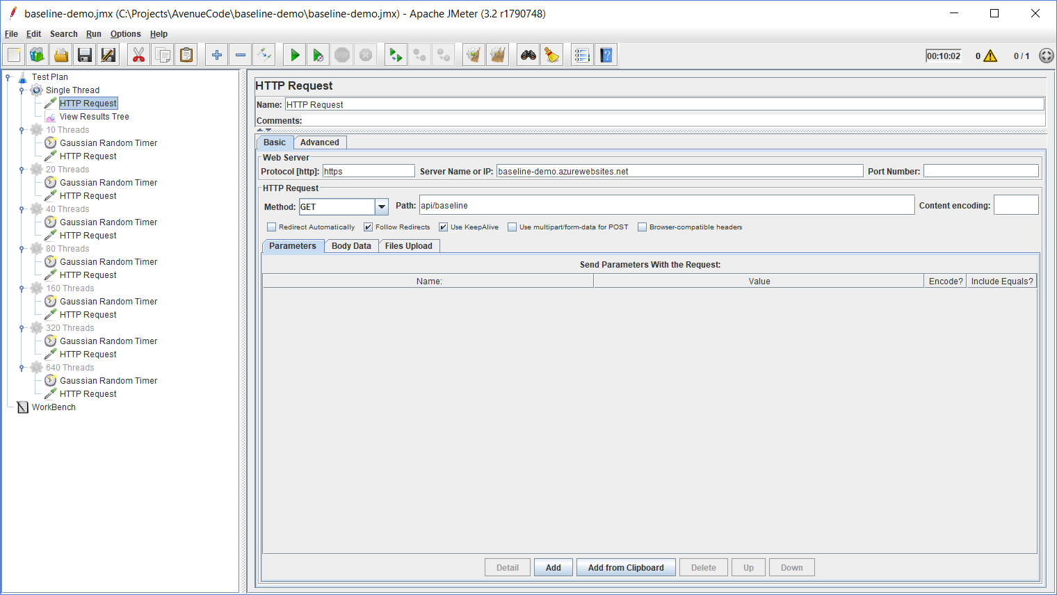 How to Determine a Performance Baseline for a Web API